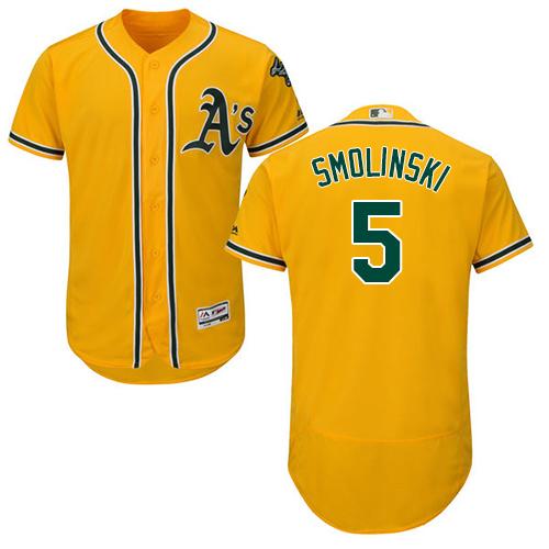 Jake Smolinski Oakland Athletics Baseball Player Jersey